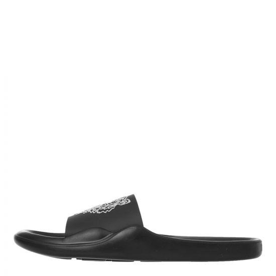 Kenzo Mule Sliders - Black 21896CP -1