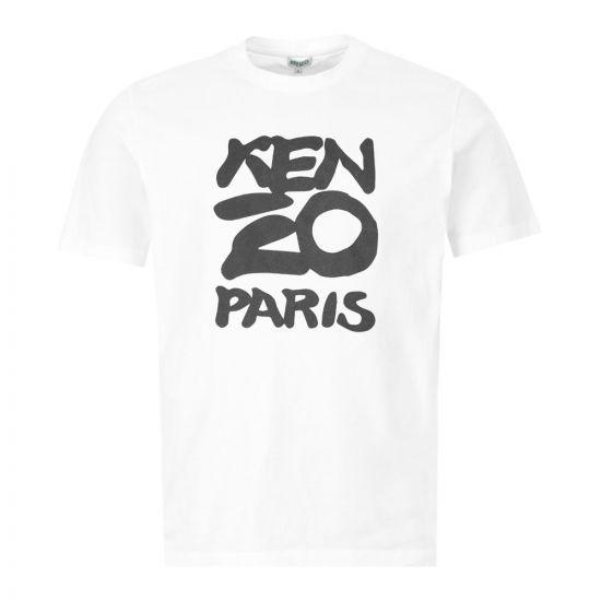 Kenzo T- Shirt - White  21903CP -1