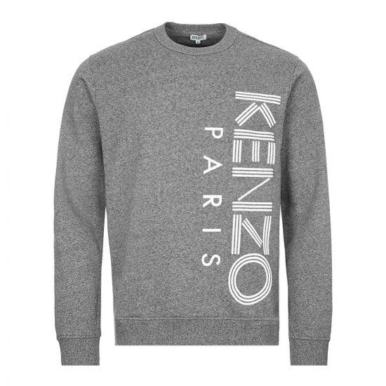 Kenzo Sweatshirt Logo - Grey 22214CP -1