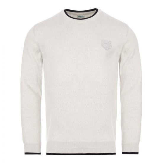 Kenzo Sweatshirt Tiger Crest - Grey 22071CP 0