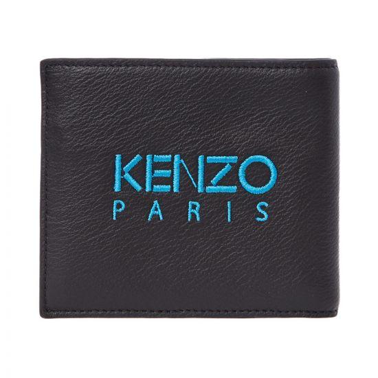 Kenzo Wallet F965PM323L49 99B Black / Blue