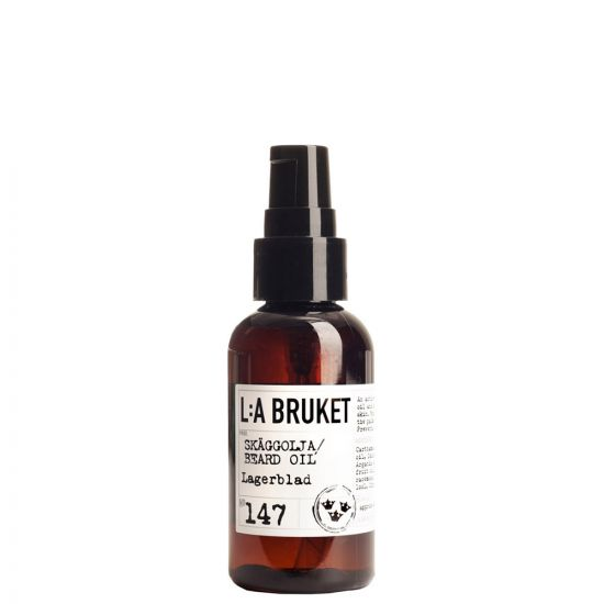 L:A Bruket Beard Oil in No147 Laurel Leaf 10542