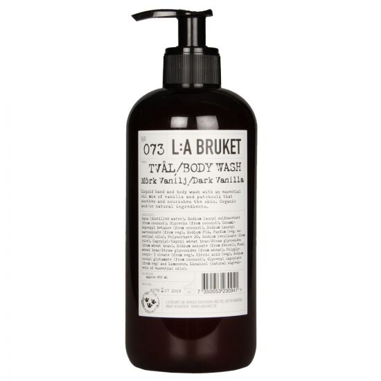 L:A Bruket  Body Wash in No073 Dark Vanilla 10162 NO73