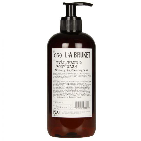 L:A Bruket Body Wash in No069 Lemongrass