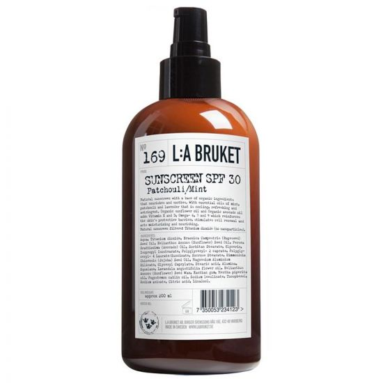 L:A Bruket Sunscreen SPF 30 in No. 169 Mint