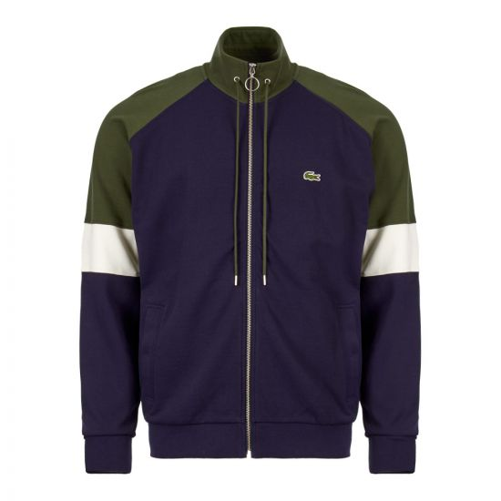 Lacoste Jacket SH4364 00 9MH In Navy / Green