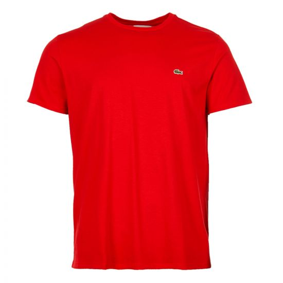 Lacoste T-Shirt   TH6709 00 240 Red