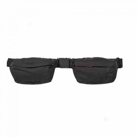 Maison Kitsune Bum Bag   EU05129WQ0013 Black