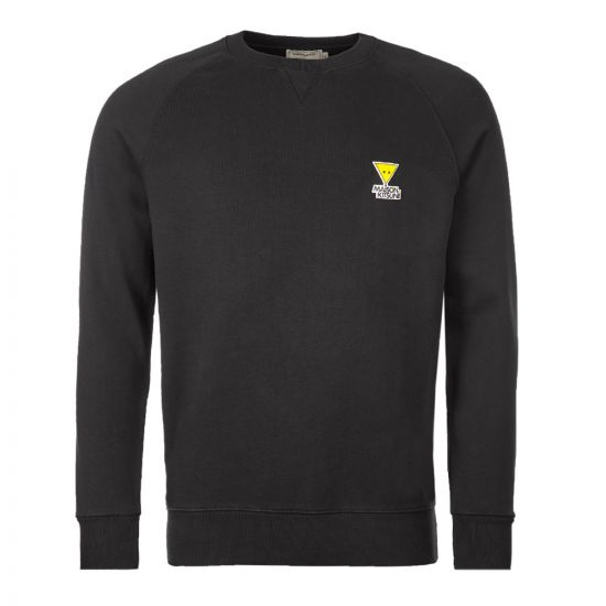 Maison Kitsune Sweatshirt Triangle Fox | DM00317K M0001 BK Black