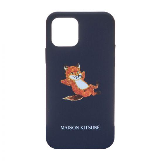 Maison Kitsune iPhone Case, GU05615A P0006 DN Dark Navy, Aphrodite 1994