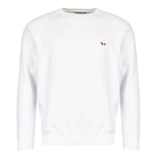 Maison Kitsune Sweatshirt AM00302K M0002 WH White