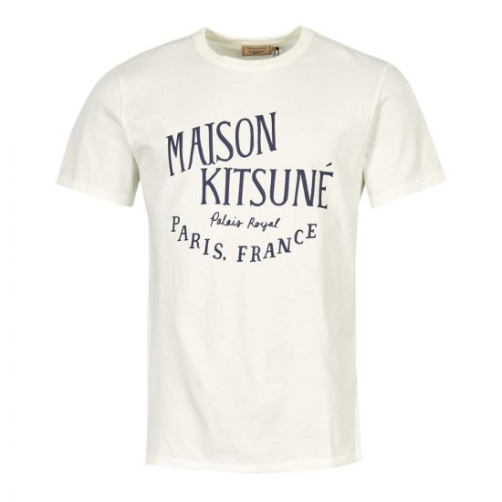 Maison Kitsune T-Shirt AM00100K J0008 LT White