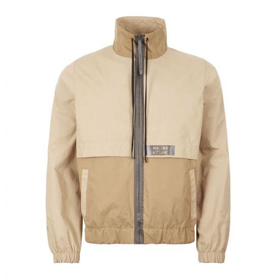 Maison Kitsune Jacket Windbreaker – Beige 21080CP -1