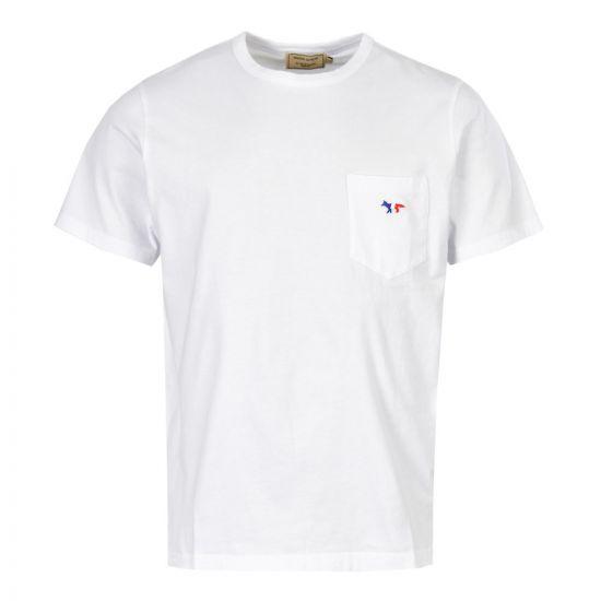 Maison Kitsune T-Shirt AM00102K J0010 WH White