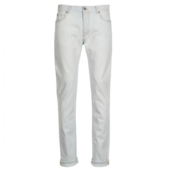 Maison Margiela 5 Pocket Jeans S50LA0110 S30561 464  Very Light Denim