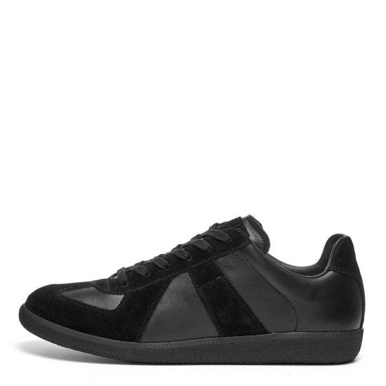 Maison Margiela Replica Low Top Trainers, S57WS0236 P1897 900 Black, Aphrodite 1994
