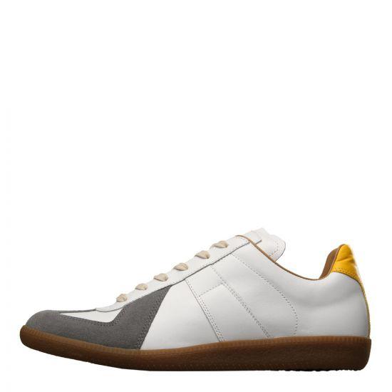 Maison Margiela Replica Sneaker S57WS0236 P1894 961 White / Grey / Yellow