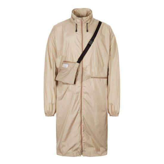 Nylon Sports Jacket – Beige