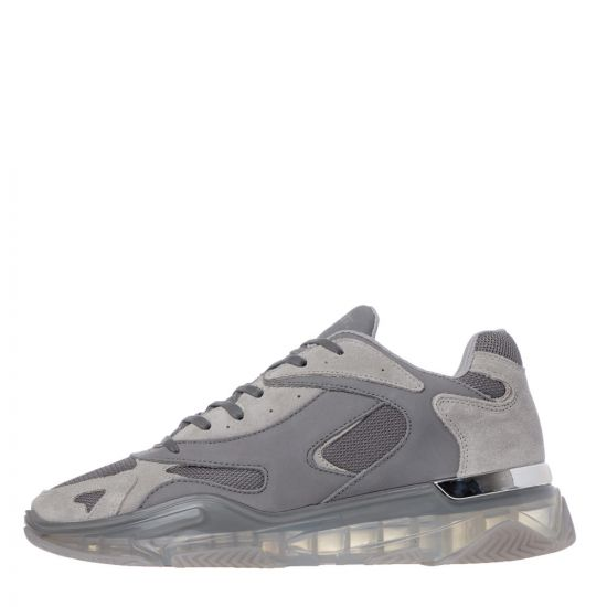 Mallet Lurus Clear Trainers - Stone  21774CP -1
