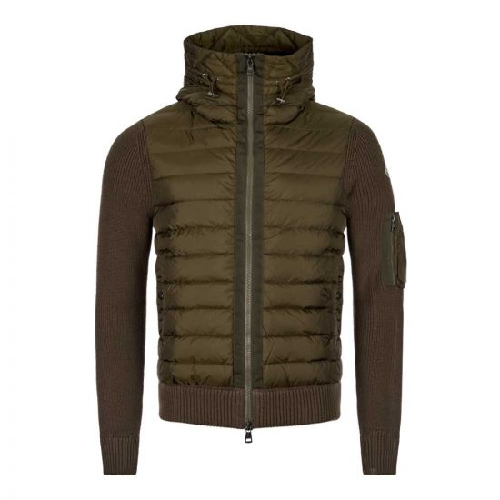 Moncler Knitted Cardigan   94028 00 94789 831 Olive