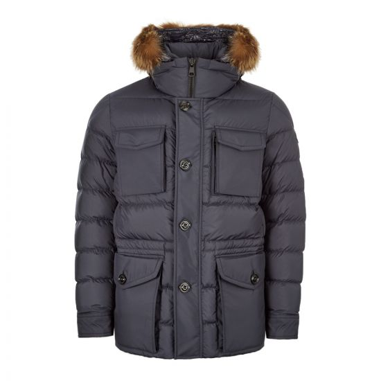 Moncler Jacket Augert 41879|25|549SM|778 In Navy At Aphrodite Clothing