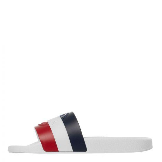 Moncler Sliders Basile - White 21849CP -1