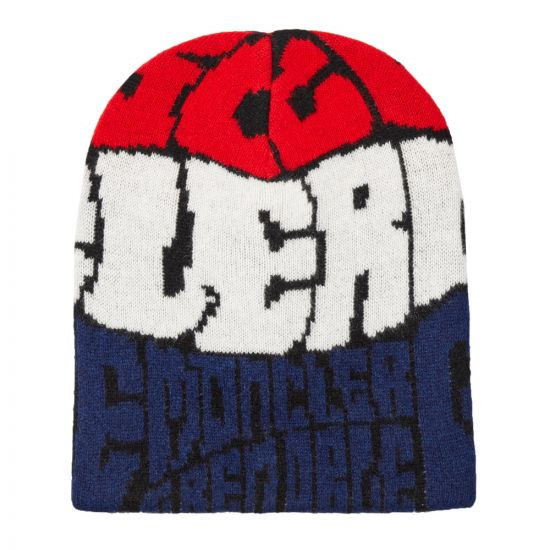 Moncler Grenoble Beanie 99207 00 A9158 985 Red / White / Blue