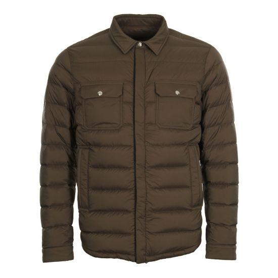 Moncler Caph Jacket 41332 00 53333 82H In Olive
