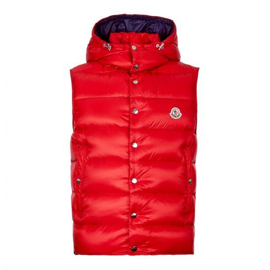 Moncler Gilet Billecart 43386 49 C0084 455 Red