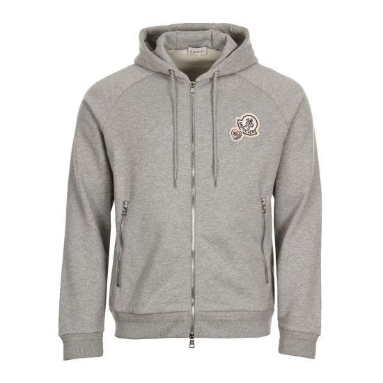Moncler 3D Logo Hoodie 84010 00 80451 984 Grey