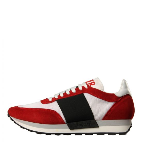 Moncler Horace Trainers 10191 00 01929 456 In Red/White/Black At Aphrodite1994