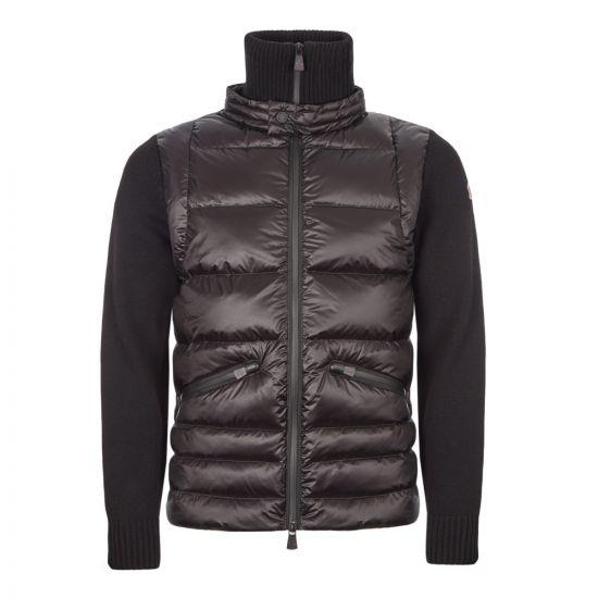 Moncler Grenoble Knitted Cardigan | 94216 00 94778 999 Black