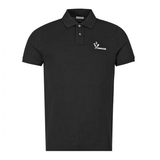 Polo Shirt Logo - Black