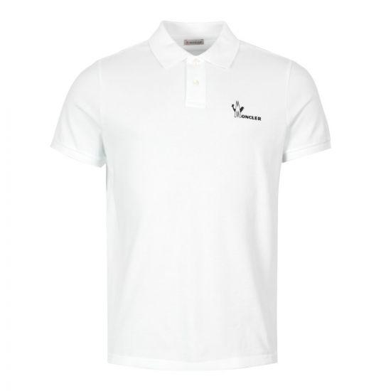 Moncler Polo Shirt 83244 50 84556 001 White