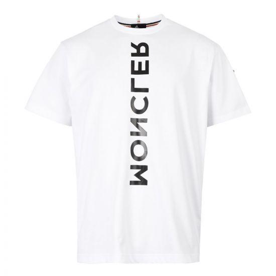 Moncler Grenoble T-Shirt   80019 50 83927 001 White