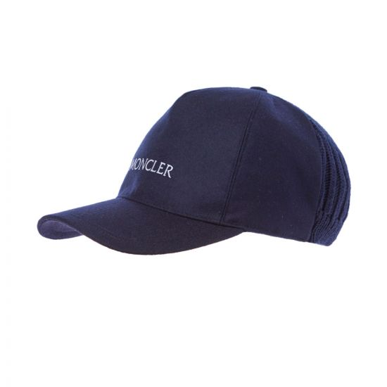 Moncler Cap Knitted   3B727 00 54233 742 Navy   Aphrodite