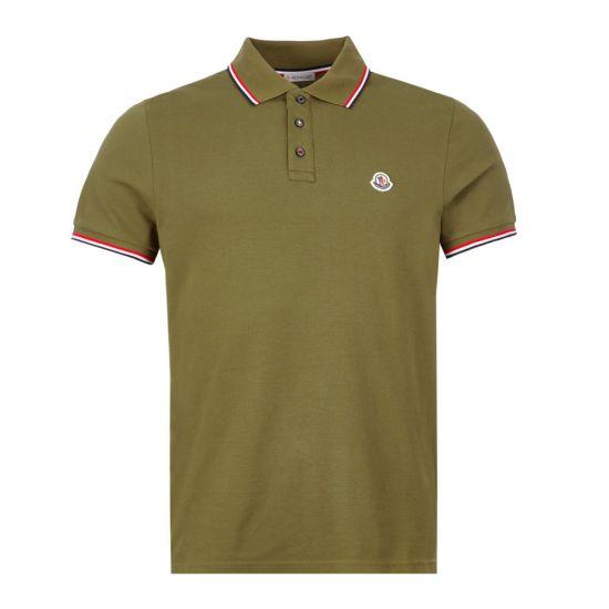 Moncler Polo Shirt - Green  21554CP -4