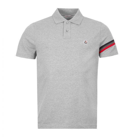 Moncler Polo Shirt Stripe - Grey  21814CP -4