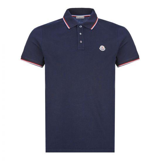 Moncler Polo Shirt | Navy 8A703 00 84556 773