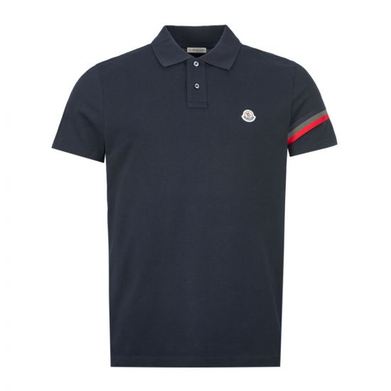 Moncler Polo Shirt Stripe - Navy  21894CP -3