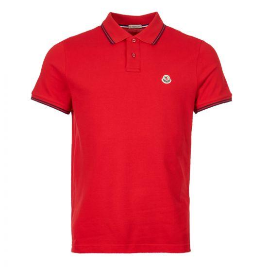 moncler polo shirt 83043 00 84556 448 red