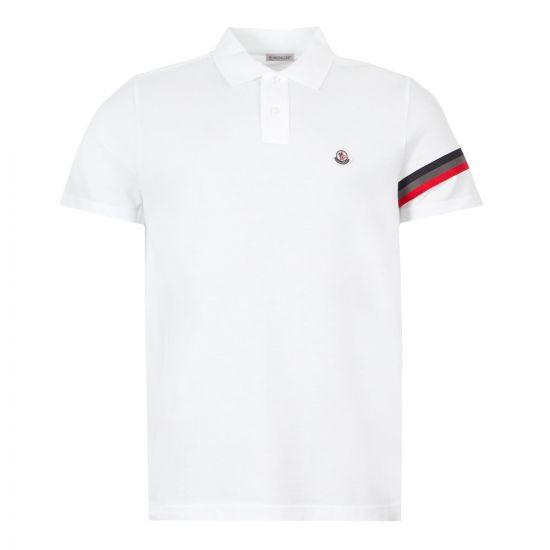 moncler, polo shirt stripe 8A709 00 84556 001 white