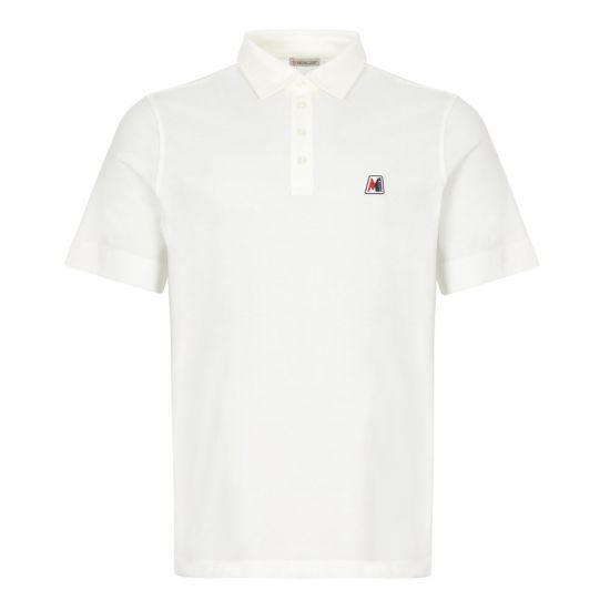 moncler polo shirt 8A718 00 84556 004 white