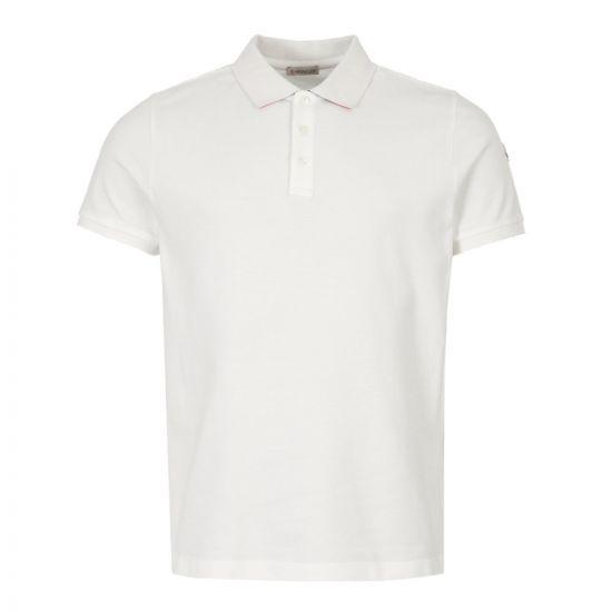 Moncler Polo Shirt 83051 50 84556 004 Off White