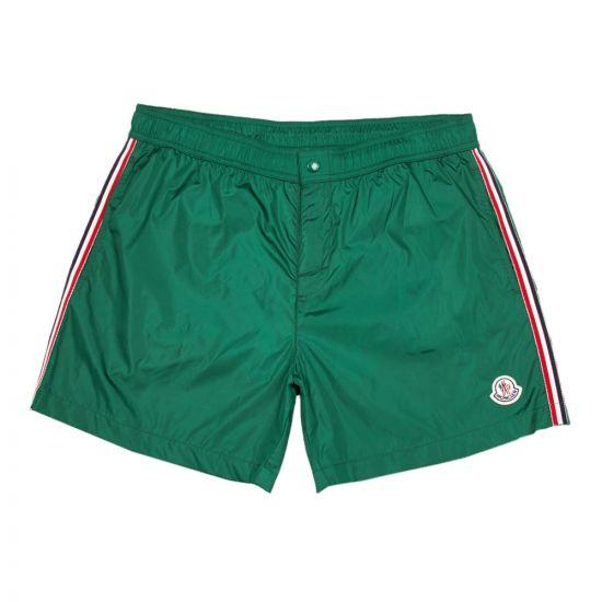 moncler swim shorts 00732 00 53326 869 green