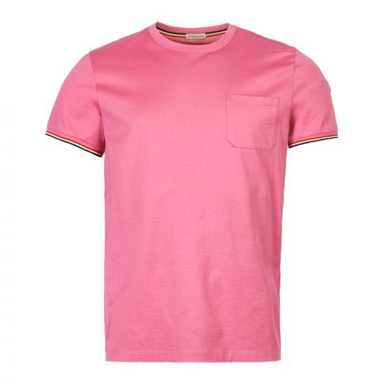 Moncler T-Shirt | 80198 00 8390Y 530Pink