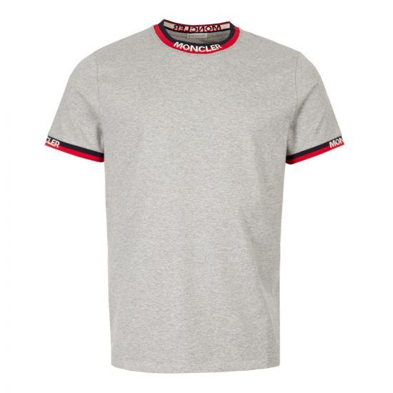 Moncler T-Shirt 80007 00 87296 984 Grey