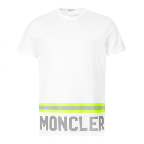 Moncler T-Shirt - White 22175CP -1