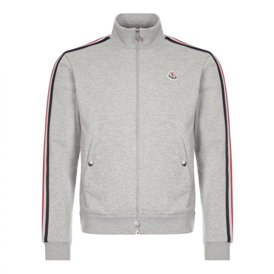 Moncler Track Jacket   8G753 00 V8162 984 Grey  Aphrodite 1994
