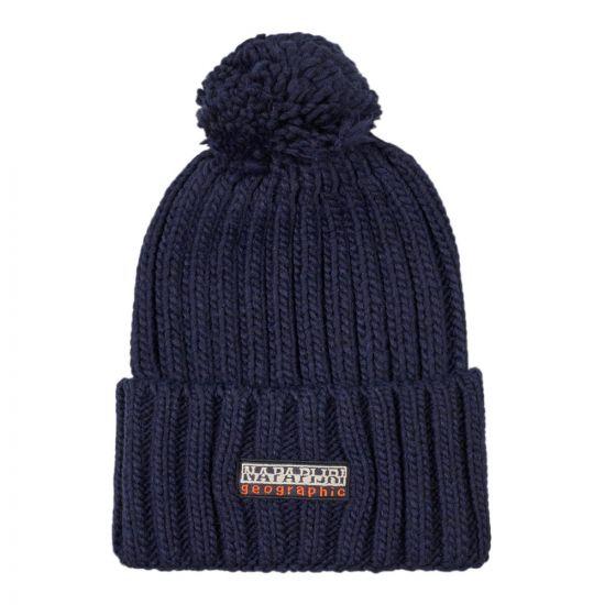 Bobble Hat – Blue Marine